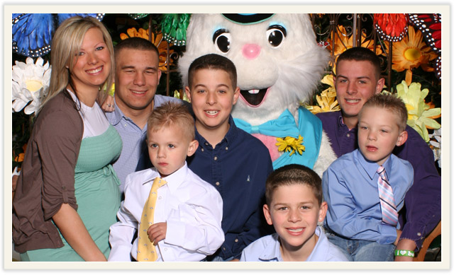 Easter Photos at Everett mall