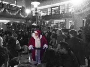 Santa at Pacific Place