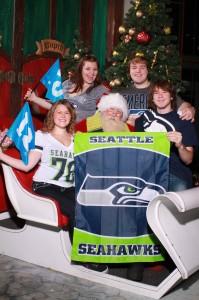 Seahawks Santa