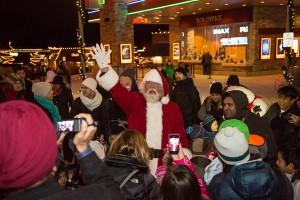 Santa at Grand Ridge Plaza