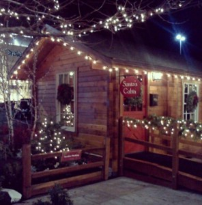 Santa Cabin at U Village